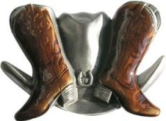 WE50 Boucle de ceinture chapeau et santiague