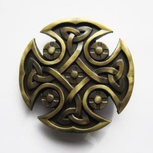 Boucle de ceinture celtique antique
