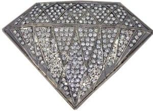 GI53 Boucle de ceinture Diamant strass XL