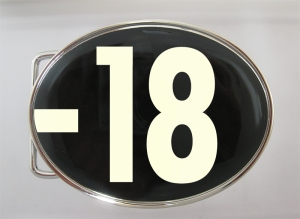 boucle de ceinture -18 ans phosphorescente