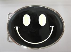 Boucle de ceinture Smiley phosphorescente