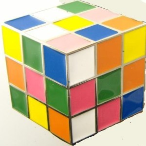 Boucle de ceinture Rubbix's cube