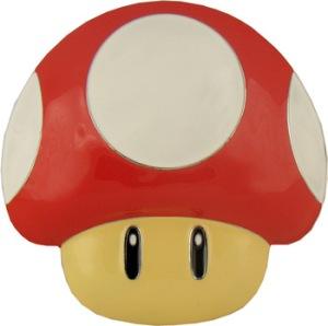 boucle de ceinture Nintendo Mushroom
